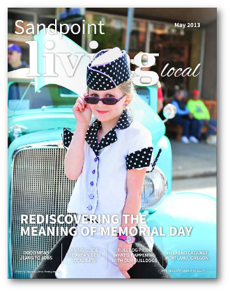 Sandpoint Living Local - May 2013 Cover